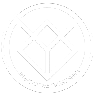 IN WOLF WE TRUST SHOP Logo